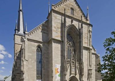Johanneskirche Saalfeld 1980-2000