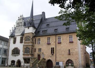 Rathaus Neustadt (Orla) 1992