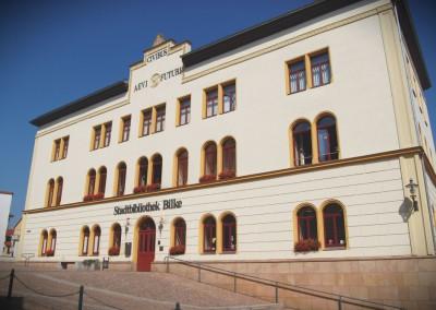 Bilke Bibliothek Pößneck II 2005-2006-1000
