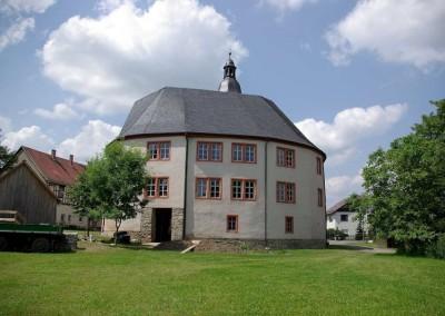 Rundschloss Oberpöllnitz 1993